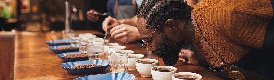 Cupping de café