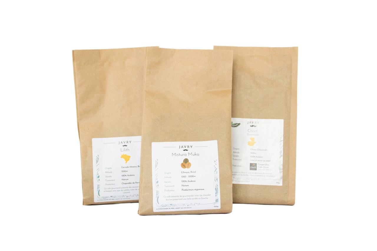 Pack Dessert - Café en grains