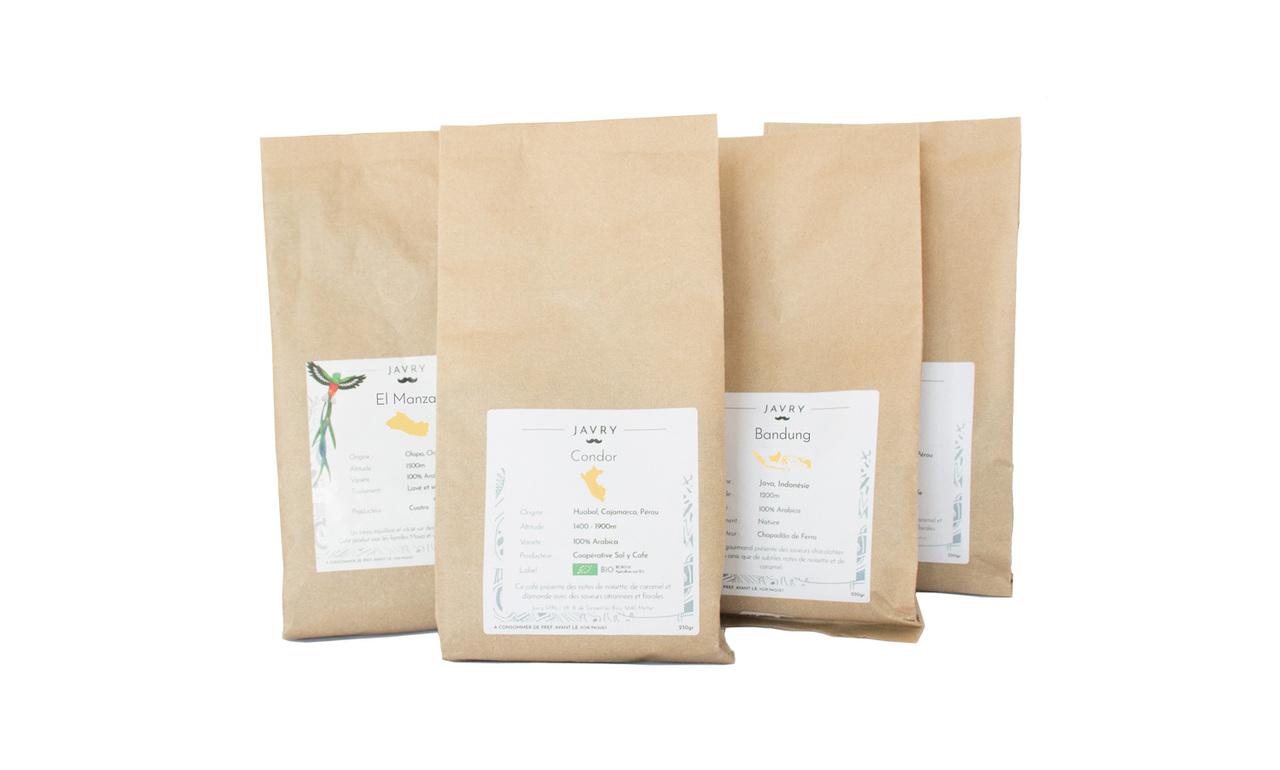 Pack Slow Coffee - Café en grains