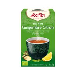 thé vert gingembre citron yogi tea