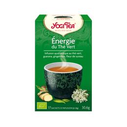thé énergie du thé vert Yogi Tea