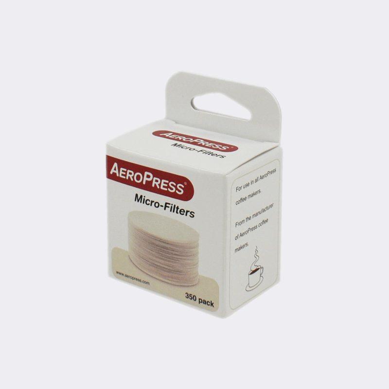 350 filters voor de Aeropress