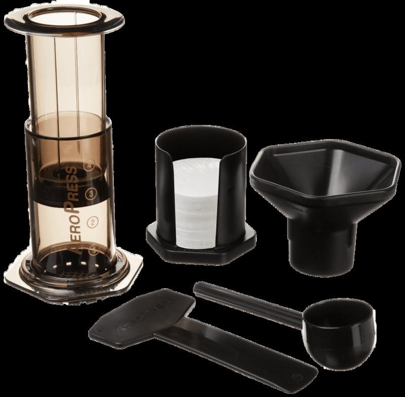 Aeropress koffiezetapparaat 2