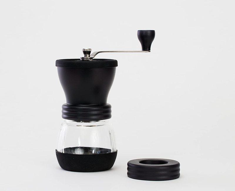 Handmatige koffiemolen Mill Skerton 100g met keramische vijzels 3