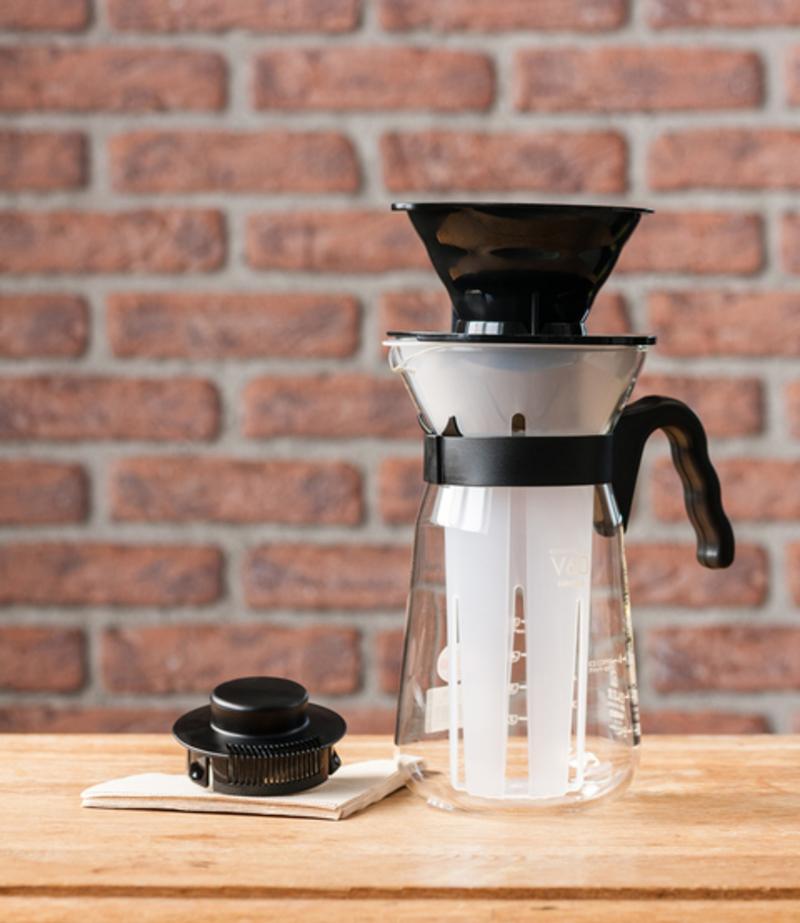 Carafe pour café glacé avec V60