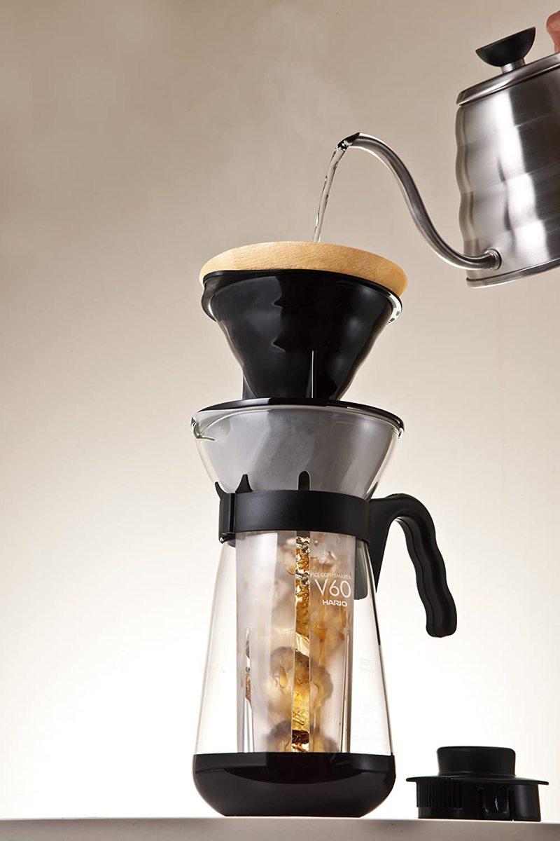 Carafe pour café glacé avec V60 intégré 2