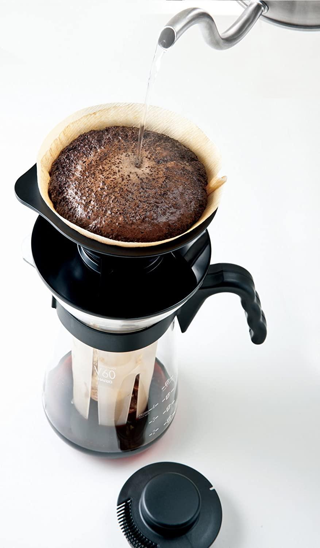 Carafe pour café glacé avec V60 intégré