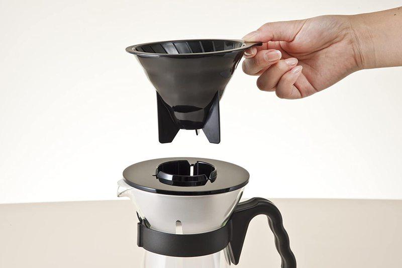 Carafe pour café glacé avec V60 intégré 4