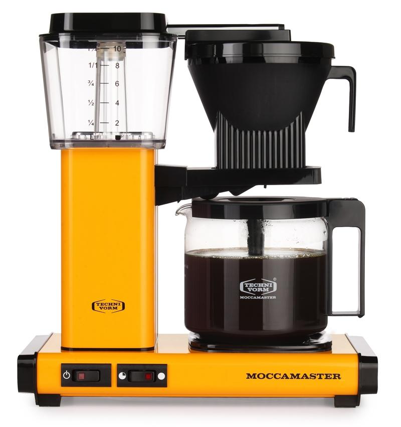 Cafetière filtre Moccamaster KBG Select - Jaune 1