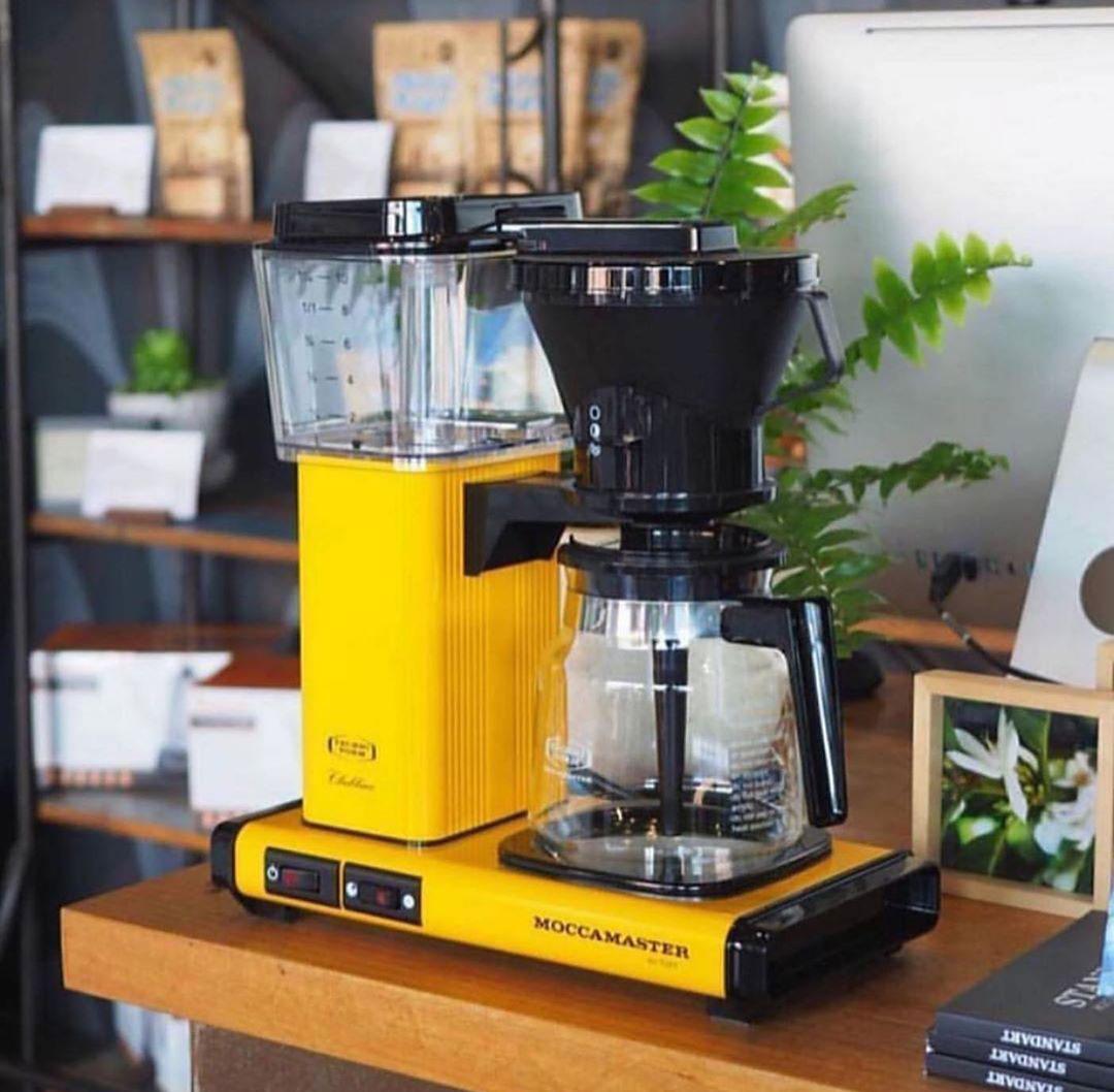 Cafetière filtre Moccamaster KBG Select - Jaune