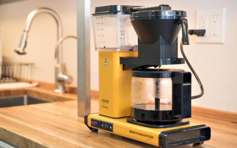 Cafetière filtre Moccamaster KBG Select - Jaune 3