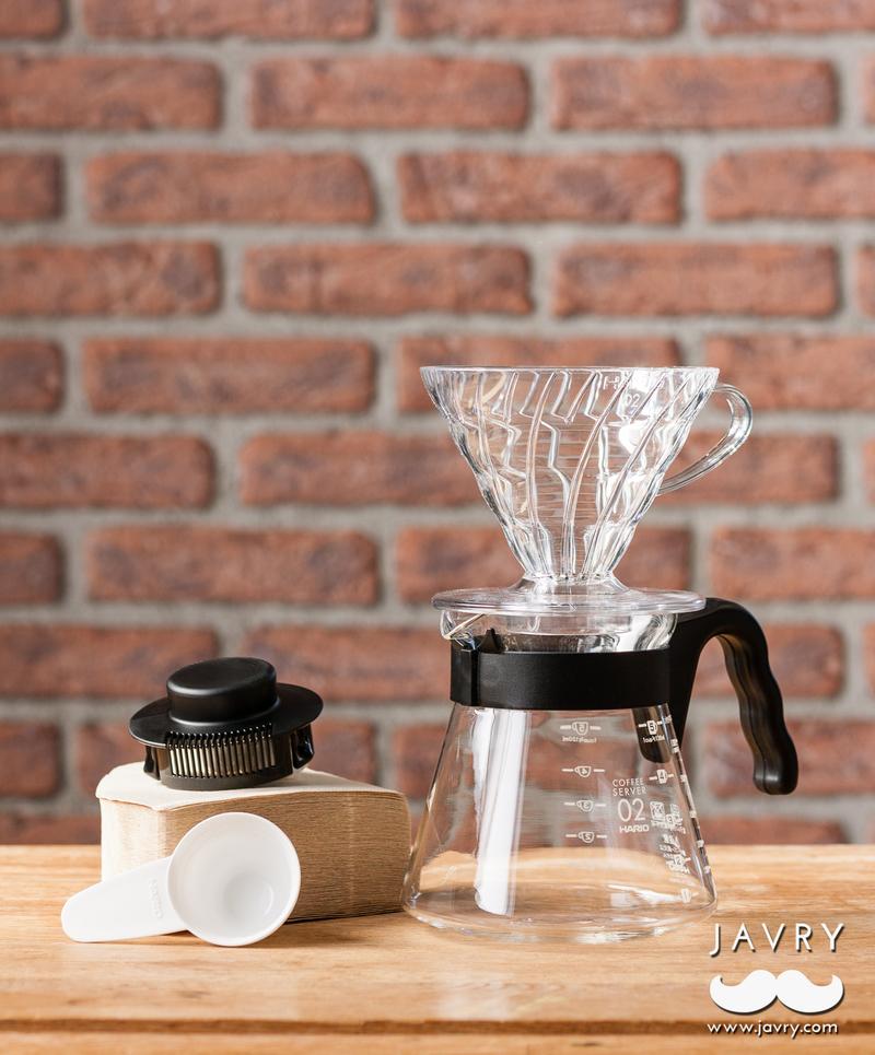 Coffret Hario V60 + 3 cafés découverte  5