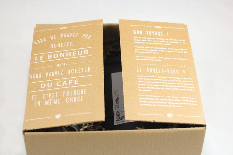 Coffret Thé (sachets) & Café (pads Senseo) 4