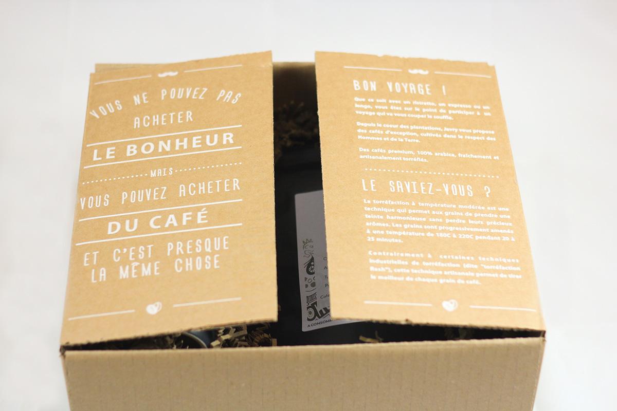 Coffret Thé (sachets) & Café (pads Senseo)