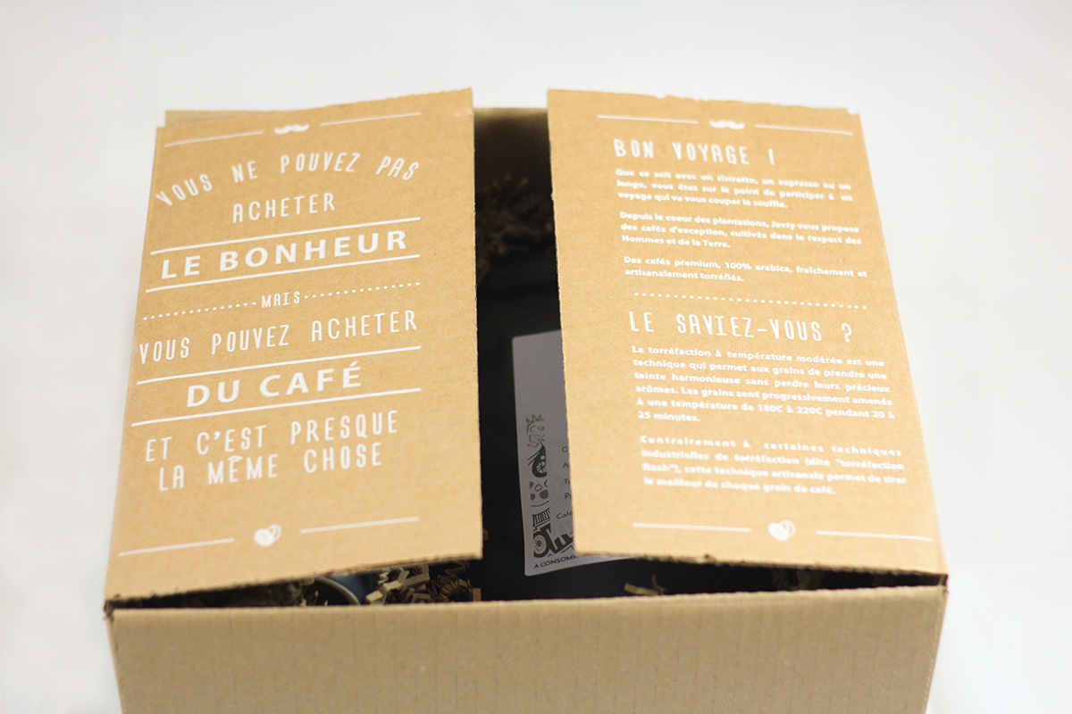 Coffret Thé (sachets) & Café (capsules biodégradables)