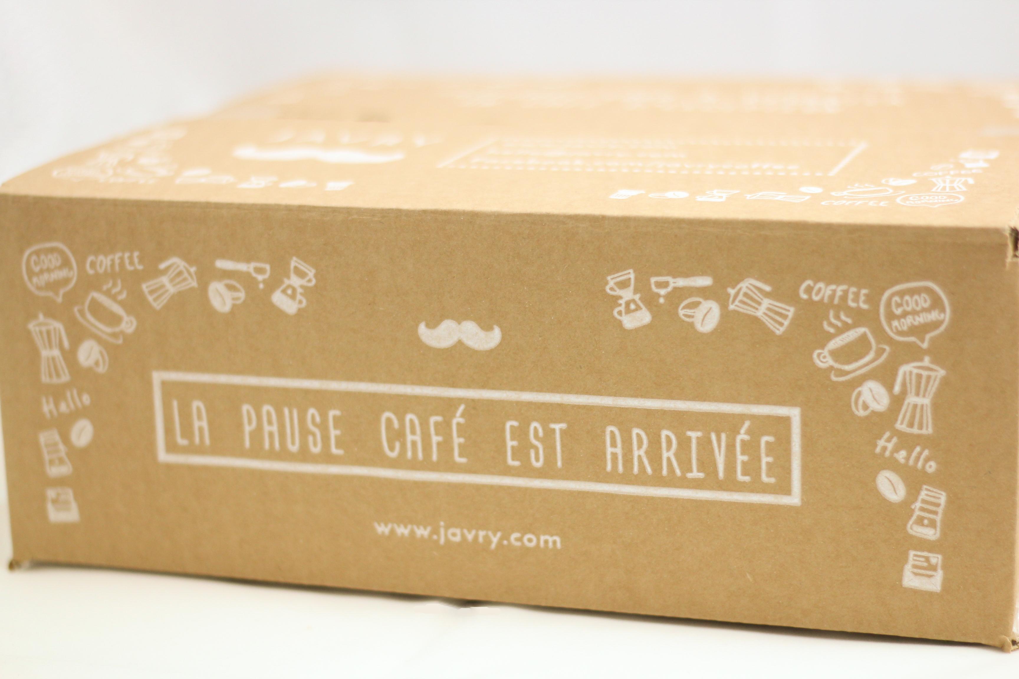 Coffret Thé (sachets) & Café (grains)