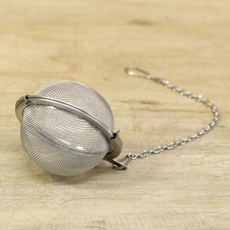 Tea ball in stainless steel 1
