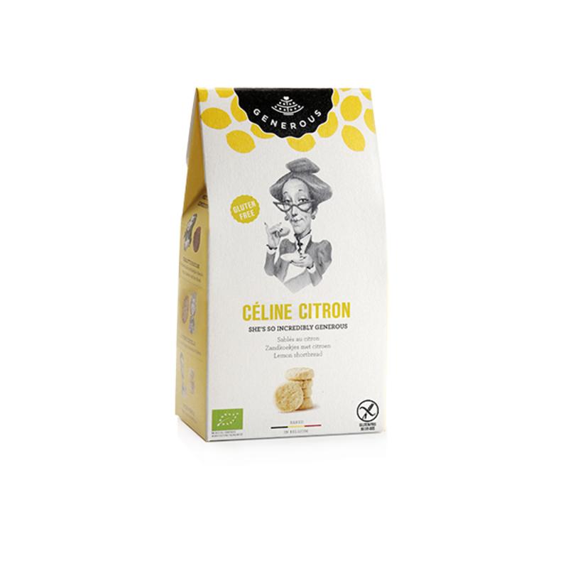Générous - Sablé au citron BIO 1