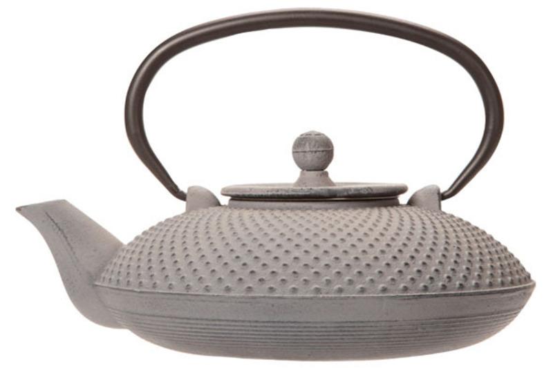 Grey cast iron teapot - 0,8L  1