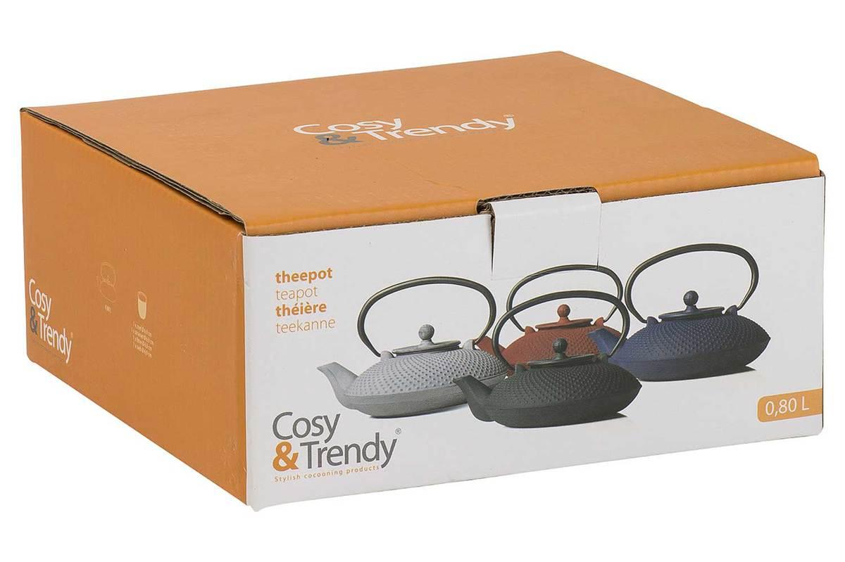 Grey cast iron teapot - 0,8L