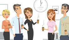Cafe au travail