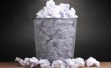 Dechets recyclage papier entreprise bureau