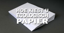 Ecologisch papier