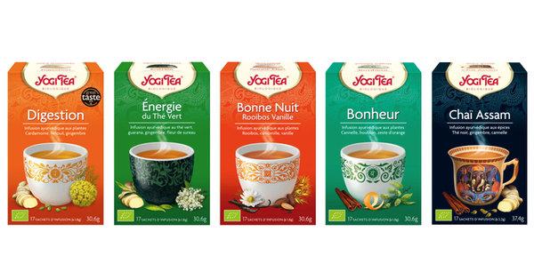 Og arrivee yogi tea