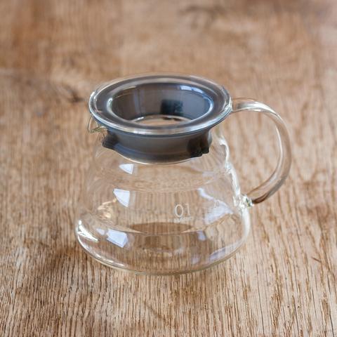 Glazen koffiekaraf voor V60 Dripper 1-3 kopjes