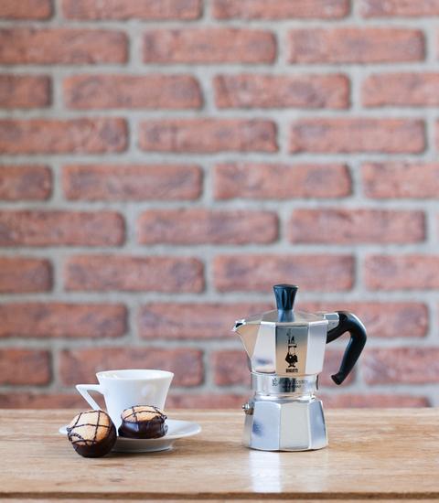 Italiaanse espressomaker Moka Express Bialetti - 1 kopje