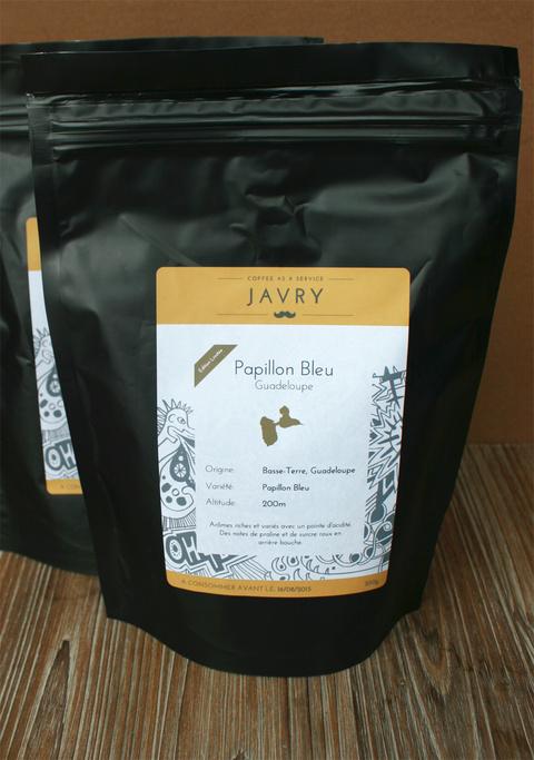 Café Papillon Bleu de Guadeloupe - 250g - Grains