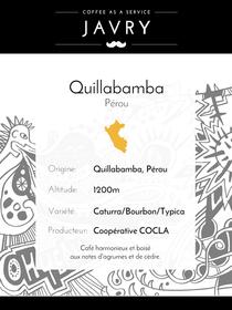 Café Pérou Quillabamba - MCM Altura - 500 grammes - Grains