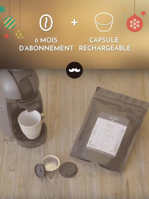 javry 6 mois capsule r utilisable pour dolce gusto gratuite 6 mois capsule dolcegusto. Black Bedroom Furniture Sets. Home Design Ideas