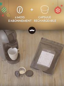 Javry 6 mois + capsule réutilisable pour Dolce Gusto® gratuite