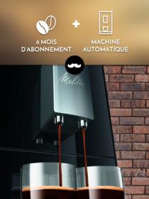 Machine automatique à grains + 6 mois d'abonnement