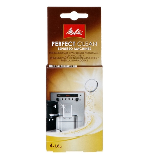 Melitta Perfect Clean tablets - 4 pieces