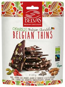BIO - Fines brisures de chocolat belge Quinoa - 60% (120g)