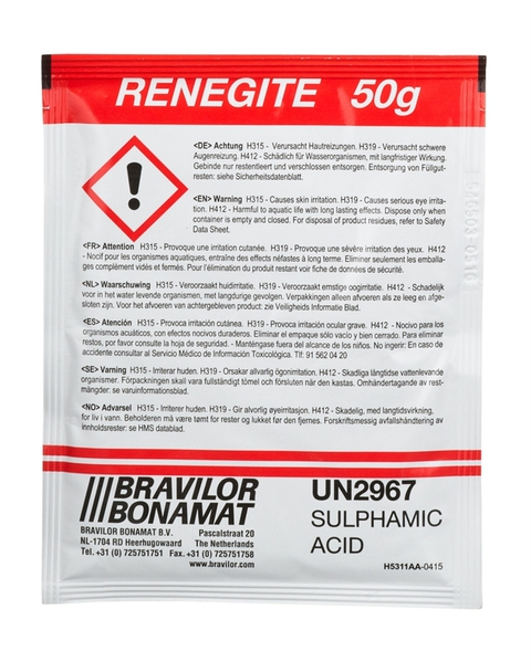 Anti calcaire Bravilor Renegite - 60 sachets