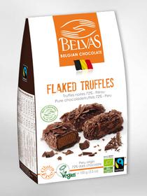 BIO - Truffes paillettes - Chocolat belge (100gr)