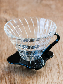 Hario V60 Dripper en verre transparent 1-6 tasses