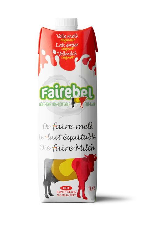 Fairebel Whole Milk 1L