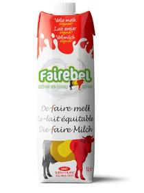 Lait entier Fairebel 1L