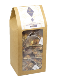 Tisane baies rouges et citron - 50 sachets