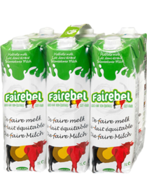 Fairebel Semi-skimmed Milk Pack 6x1L