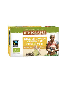 Thé vert gingembre citron vert Éthiquable