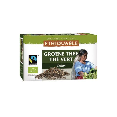 Thé vert de Ceylan Éthiquable
