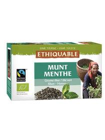 Thé vert à la menthe Éthiquable