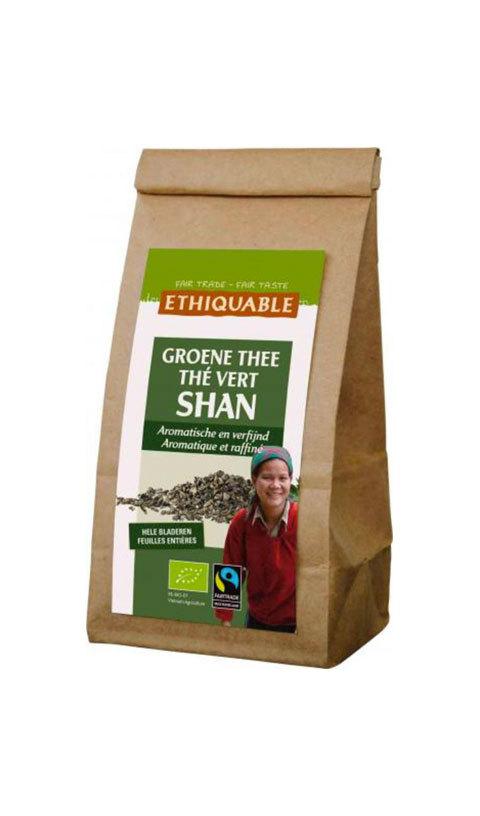 Thé vert Shan en vrac - Éthiquable