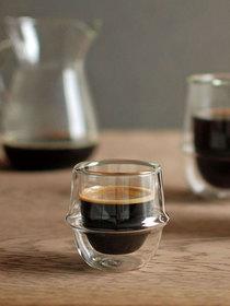 Verre à espresso à double paroi - 80 ml - 1 pièce