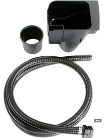 Coffee ground disposal / drip drain set for Jura X-line